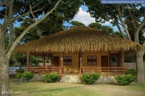 Nature Friendly Bamboo House Design: Bahay Kubo Made Of Bamboos