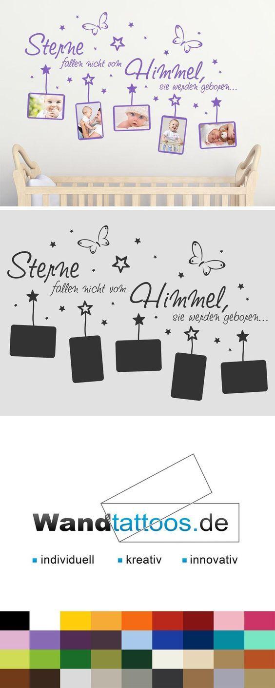 Wandtattoo Fotorahmen Sterne fallen… als Idee zur individuellen Wandgestaltung. Einfach Lieblingsfarbe und Größe auswählen. Weitere kreative Anregungen von Wandtattoos.de hier entdecken!