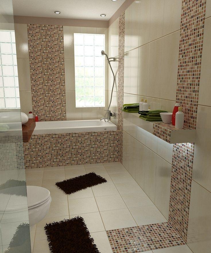 73 besten Badezimmer Bilder auf Pinterest Badezimmer, Mosaik und - bad beige aufpeppen