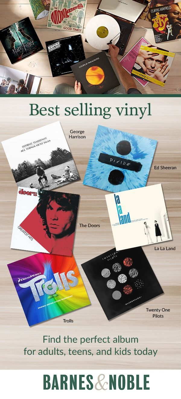 15 best barnes noble images on pinterest christmas presents discover best selling vinyl at barnes noble find the perfect album for adults fandeluxe Images