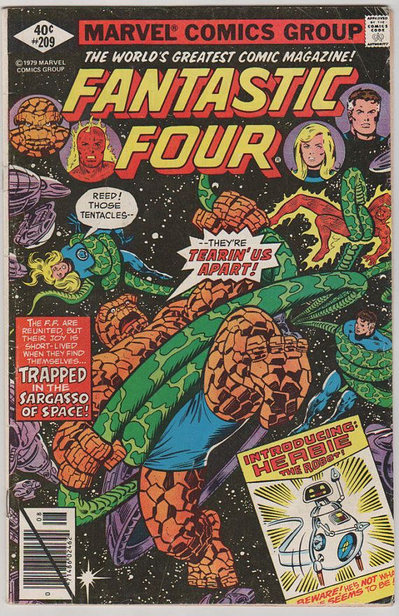 Fantastic Four V1 209.  FN. Aug 1979.  Marvel by RubbersuitStudios #fantasticfour #comicbooks