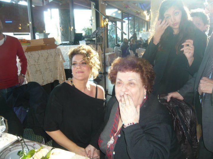Più romani di così. Sabrina(la figlia di Anna Longhi) e Manuela(la figlia di Claudio Villa)
