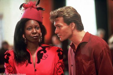 whoopi goldberg and patrick swayze in Ghost on AMC. best way to spend Saturday night in!