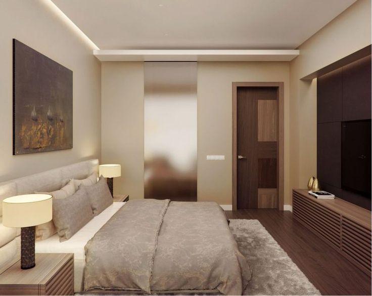 Természetes, meleg hangulat, bézs, barna árnyalatok egy elegáns, modern lakásban