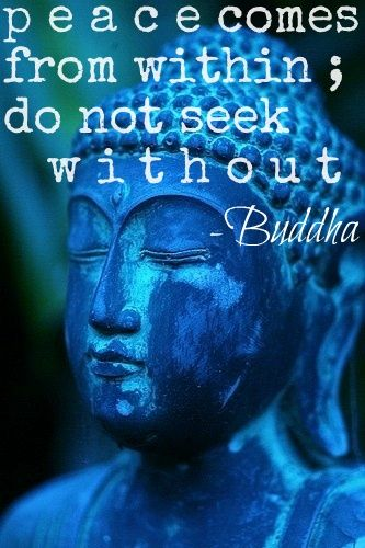 peace from within... truth.