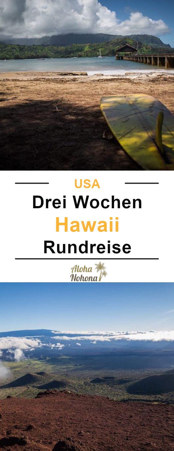 Hawaii Inseln: Oahu – Kauai – Big Island