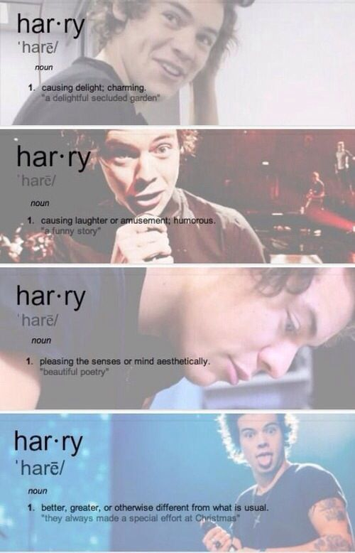 Harry really is all of these and I personally wish him a happy birthday because him + the rest of the boys always manage to make me smile and if you don't like one direction or if you aren't a directioner than you are missing out *pshh* girl/boy lemme tell you :)
