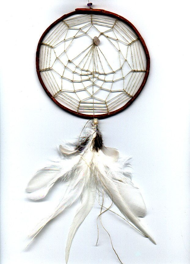 Bud of the Rose DreamCatcher of the Seventh Fire Dream Catcher Heritage Collection