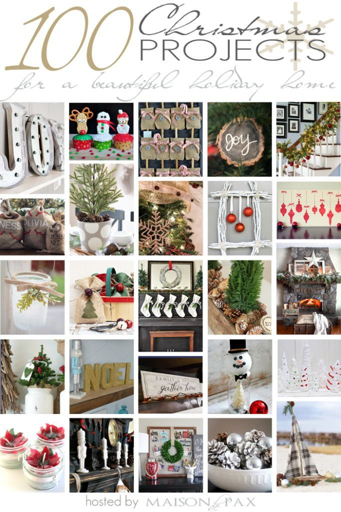 100 DIY Christmas Projects via Life On Virginia Street