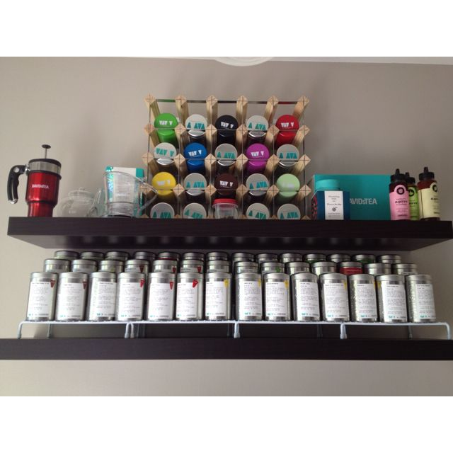 "(by you): ""My DAVIDsTEA Collection (first visit 11/23/11) this photo is 05/23/12"""