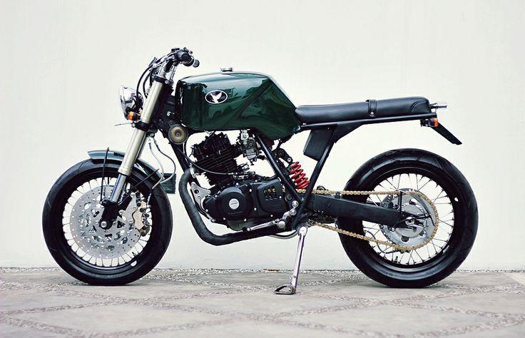 "Suzuki Thunder 250 ""The Owl"" by Studio Motor"