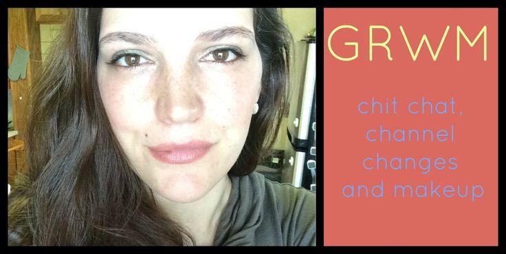 GRWM, chit chat, Urban Decay , Kat Von D