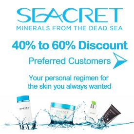 "#Seacret Direct Preferred Customer 40-60% Discount Find out How!  Learn more about this picture from my #Seacret Direct Review blog post: ""Seacret Direct Review: A Comprehensive Review"" by Amado Manalo Jr. For more info read the full blog post here: http://socialmediabar.com/seacret-direct-review-pinterest"