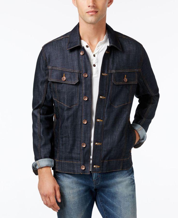 William Rast Men's Erwin Raw Denim Jacket