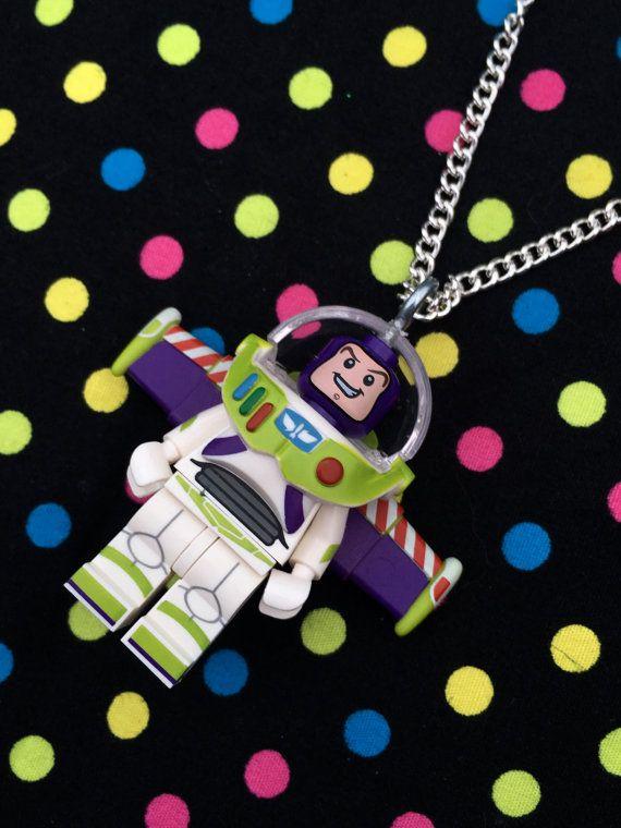 Buzz Lightyear Minifigur Halskette... Handgefertigt unter Verwendung LEGO® Teile