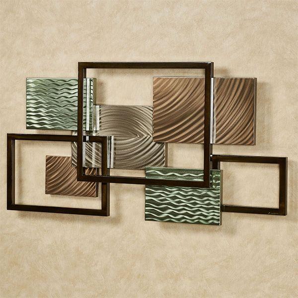 Framed Array Ii Indoor Outdoor Abstract Metal Wall Sculpture Wall Sculptures Metal Walls Metal Wall Sculpture