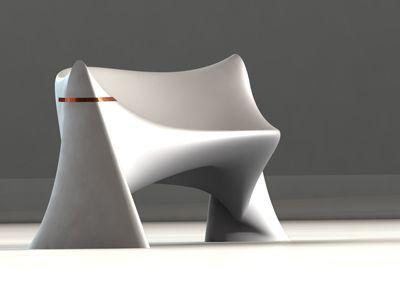 polyethylene furniture. stuart fingerhutu0027s u201csilky smooth seatingu201d combines the boldness of an asymmetrical roto polyethylene furniture e