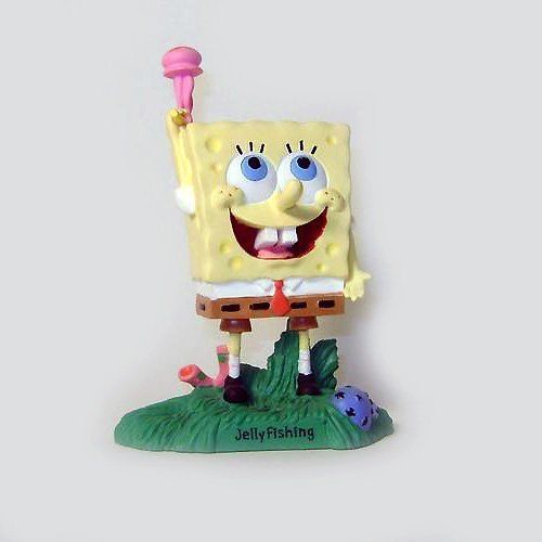 Enesco Resin Spongebob Squarepants Jellyfish Figurine figure die cast doll ( parallel import ) @ niftywarehouse.com #NiftyWarehouse #Spongebob #SpongebobSquarepants #Cartoon #TV #Show