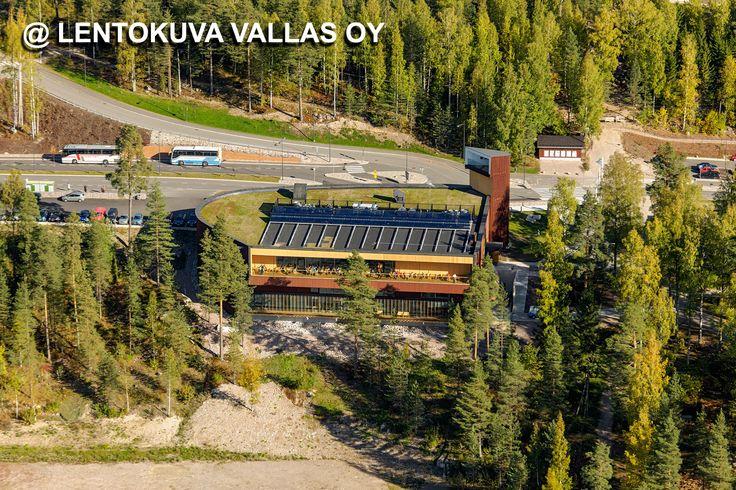 Suomen luontokeskus Haltia Ilmakuva: Lentokuva Vallas Oy