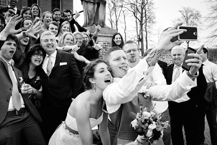 Weddingselfie! Dutch/Australian wedding, Amerongen, The Netherlands