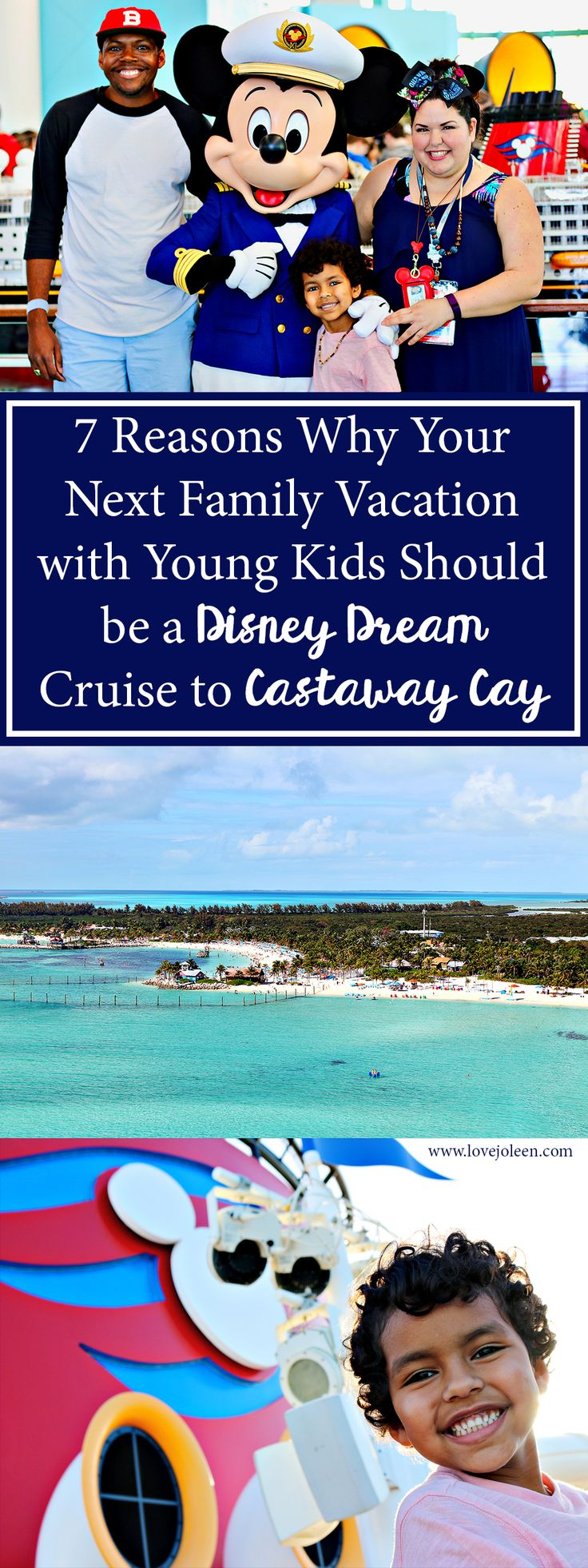 Love, Joleen: 7 Reasons Why Your Next Family Vacation with Young Kids Should be a Disney Dream Cruise to Castaway Cay   #DisneySMMC #DisneyMoms #Disney #DisneyCruiseLine #DisneyDream #Cruise #Travel #TravelBlogger #CastawayCay #Family #FamilyTravel #FamilyVacation