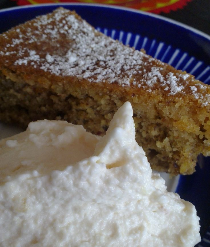 Almond Cake with Lemon and Honey