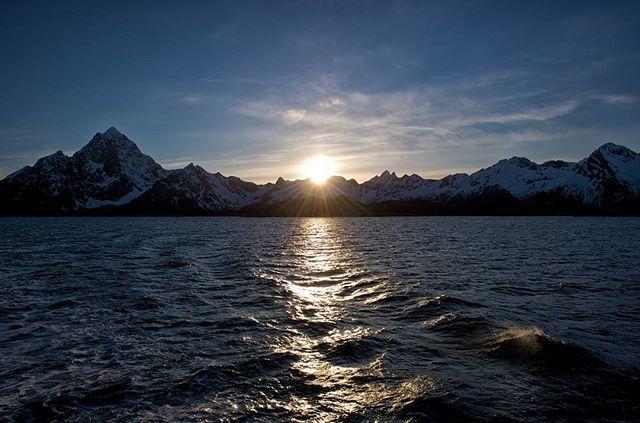 With sunrise, you rise. #GastonLuga #anywherewithGL #Norway