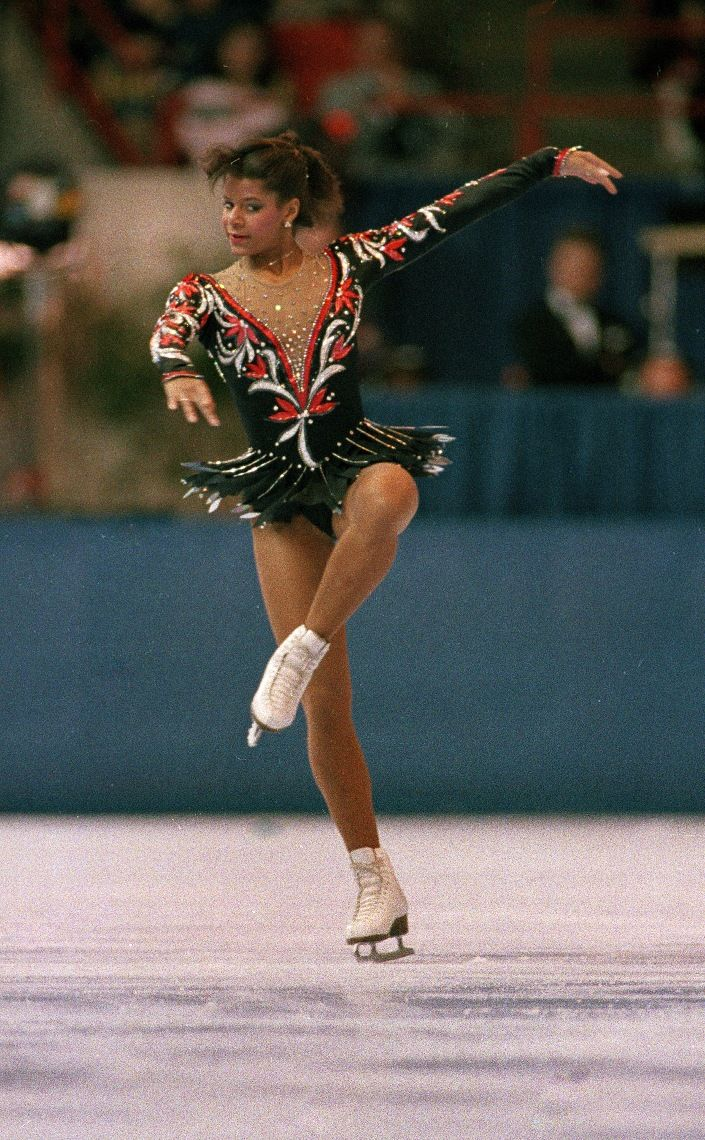 Debbie Thomas Figure Skater First African-American to win a medal in the sport at the 1988 Winter Olympics More