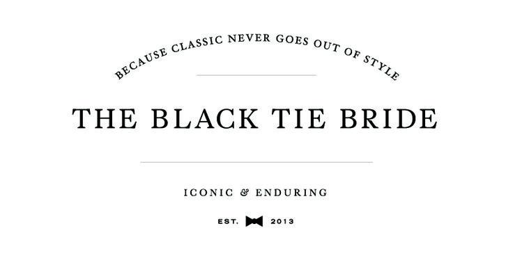 The Black Tie Bride logo