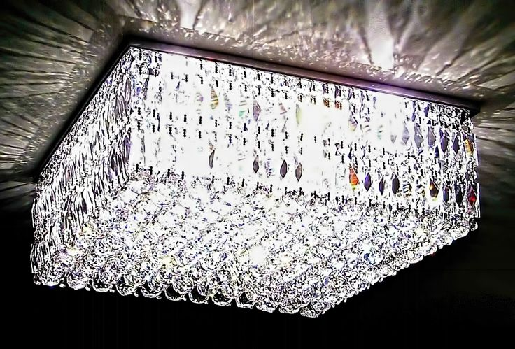 Plafon de cristal