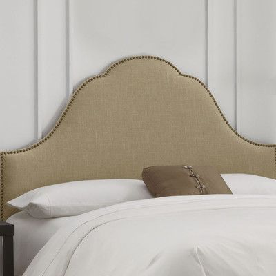 Skyline Furniture Nail Button Arch Upholstered Headboard | Wayfair - $377.40 for king