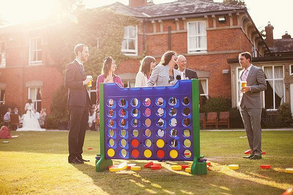 Reception Activities | Outdoor games for wedding reception | partay