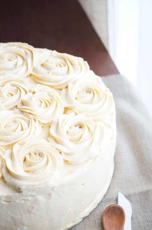 torta helada de lúcuma
