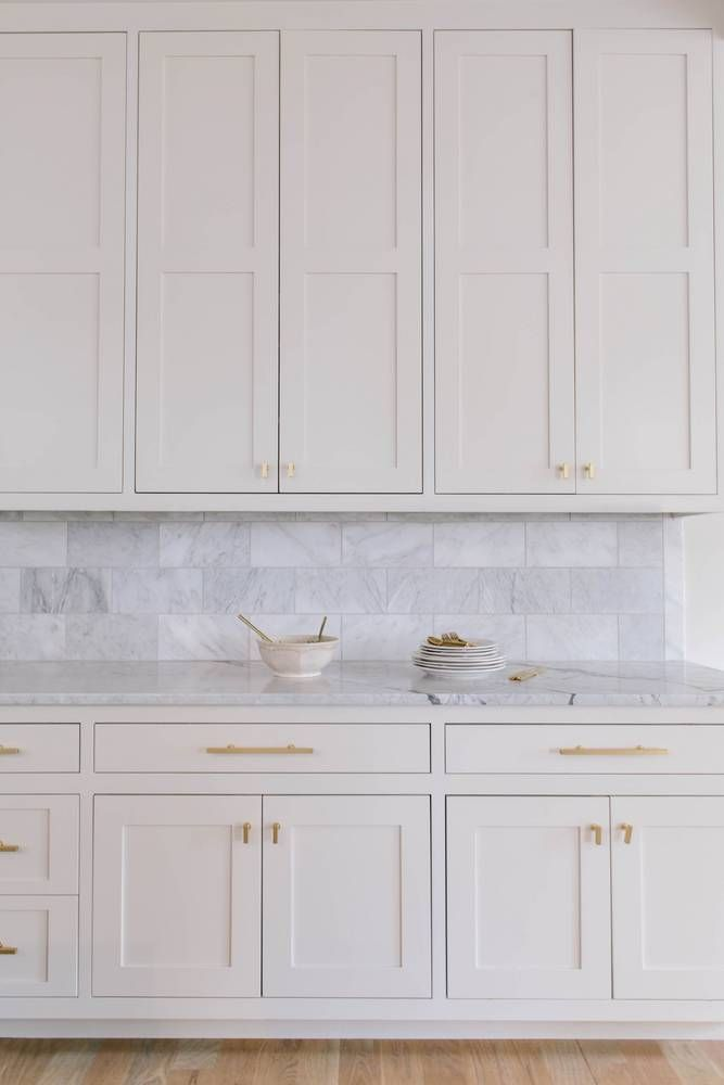 classic kitchen cabinets in a muted color
