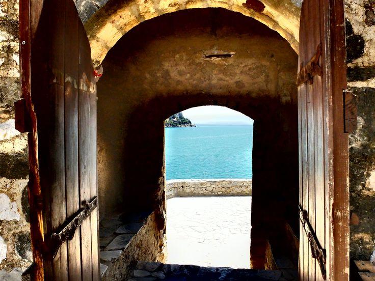Inside Bourtzi Castle