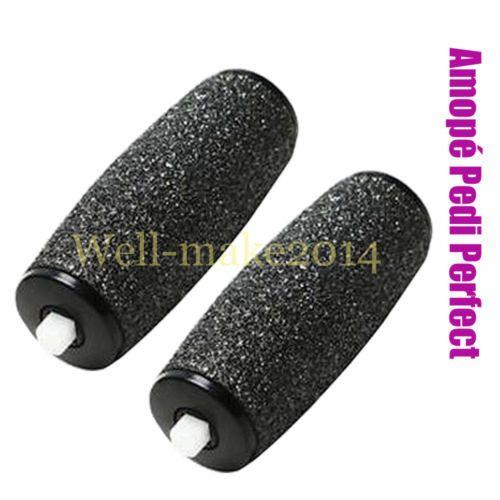 2*Roller for Amopé Pedi Perfect Electronic Pedicure Foot Callus Shaver/Remover