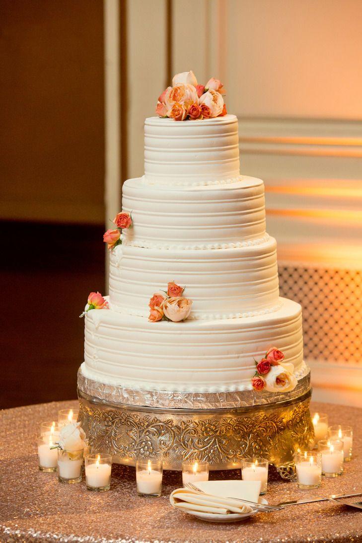 Four Tier White Round Wedding Cake Stackwood Studios Https