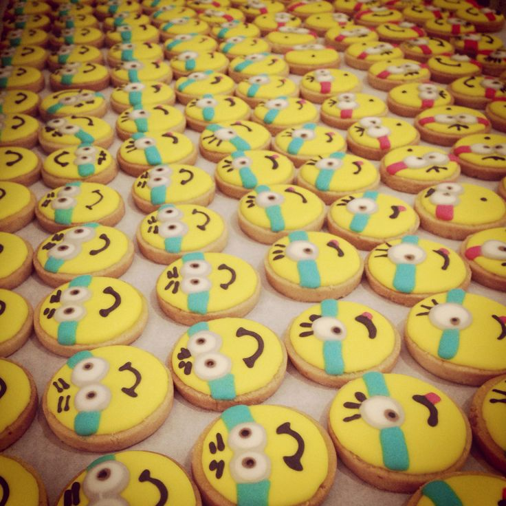 Hundreds of minions!! It was ao fun making these guys.. :)