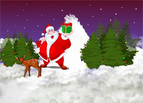Images of Christmas Cartoon Trees