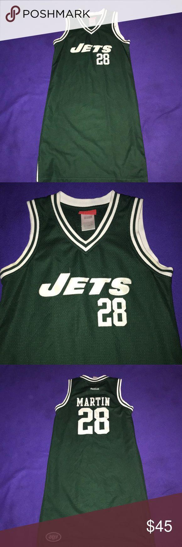 Jets jersey dress Martin Jets jersey dress Reebok Dresses