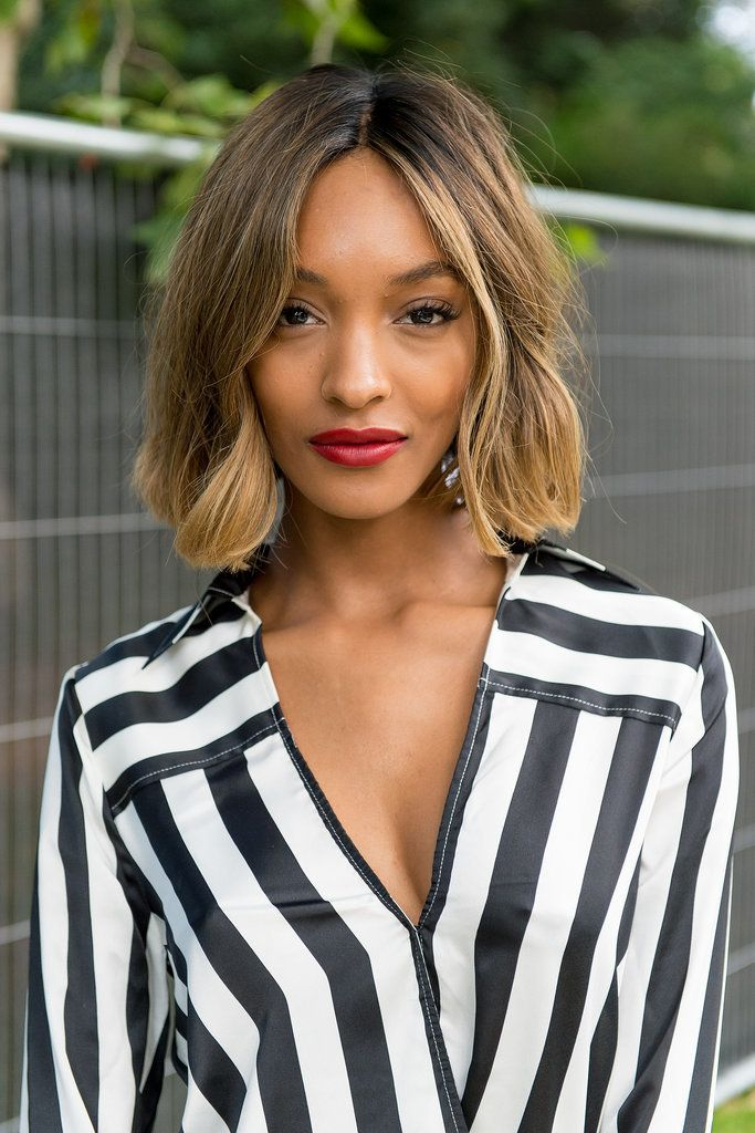 """Jourdan Dunn's """"bronde"""" (blond-brown) color is the best of both worlds."""