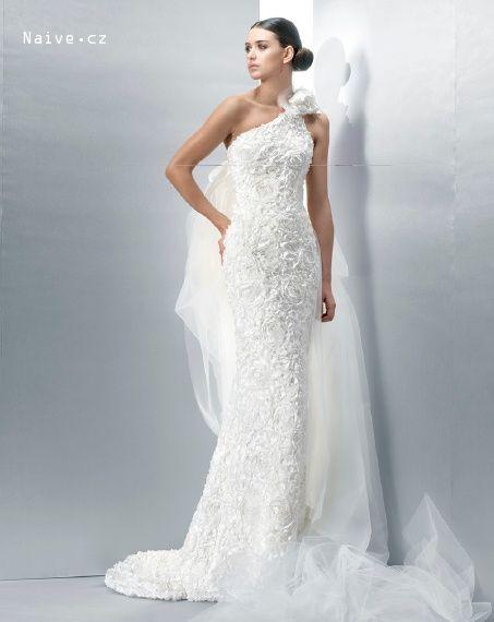 JESUS PEIRO svatební šaty, model 2036 (Praha,Brno)