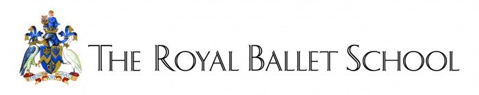 New York City Ballet Logo | The Royal Ballet School logo with Royal crest