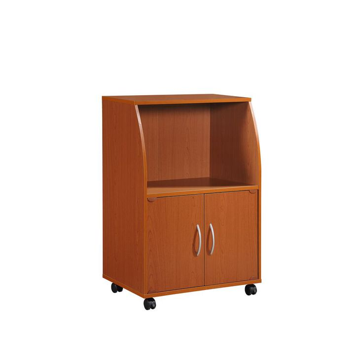Cherry (Red) Microwave Cart