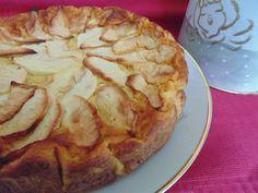 Torta di mele cremosa senza zucchero   La cucina di Katy