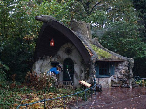 Rumpelstiltskin's House in Holland's Efteling fairytale forest