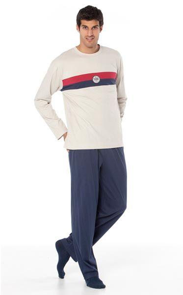 Pijama invierno hombre Punto Blanco modelo Adapt. http://www.perfumeriaelajuar.com/homewear/pijama-hombre-invierno-/31/