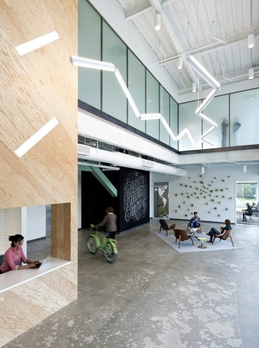 Evernote's office in Redwood City, CA - cool digs >> / Studio O+A   ArchDaily