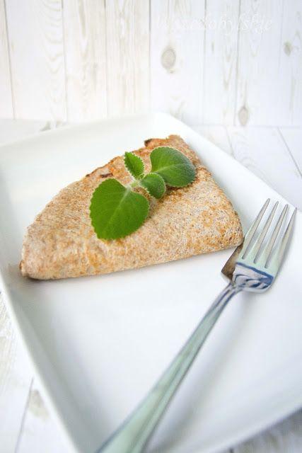 Wszędobylskie: Zdrowe śniadanie - naleśniki gryczane.
