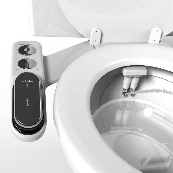 Premium Cold Water 1Nozzle Bobslei Non-Electric Bidet I CHROME #HYUNDAIWATER
